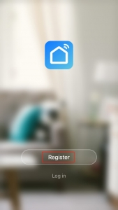 "Tap ""Register"" button"
