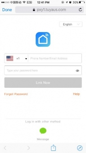 type your Smart Life account to authorize Google Home