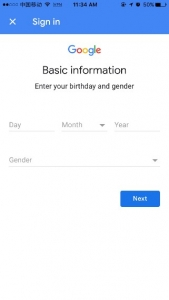 Filling basic information in Google Home