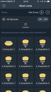 available SMAlux Bluetooth light bulbs nearby