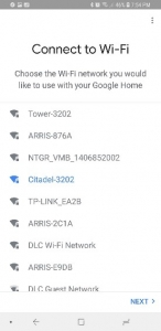 Connect Google Assistant to Wi-Fi