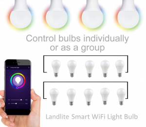 smart light bulb group control