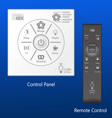 Easy Lighting Control for Hotel Guestroom