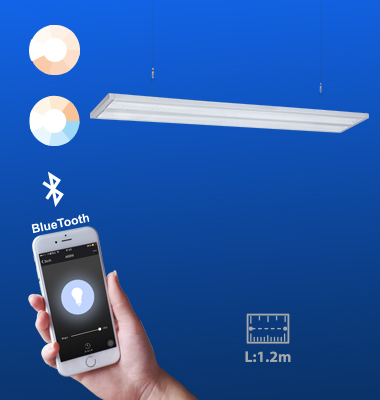 SMAlux 1200MM Bluetooth Control Pendant Light