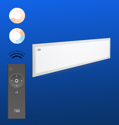 SMAlux 30120mm 40W Remote-Control Tunable White Led Pendant Light
