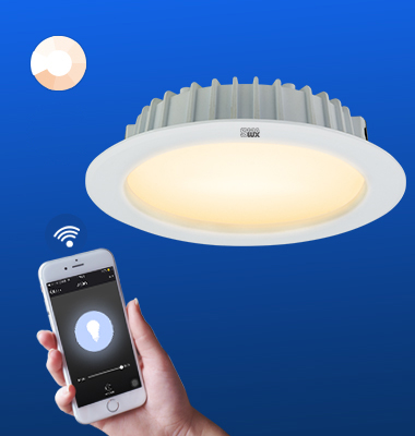 SMAlux 4 inch Dimmable Wi-Fi Recessed Retrofit Led Downlight