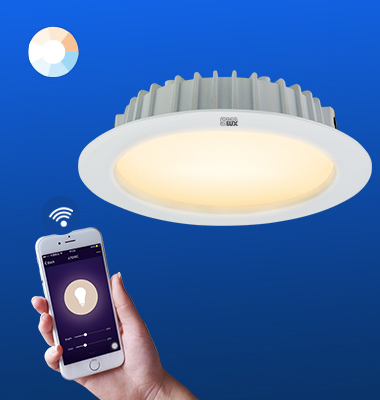 SMAlux 4 inch Tunable Whit Wi-Fi Recessed Retrofit Led Downlight