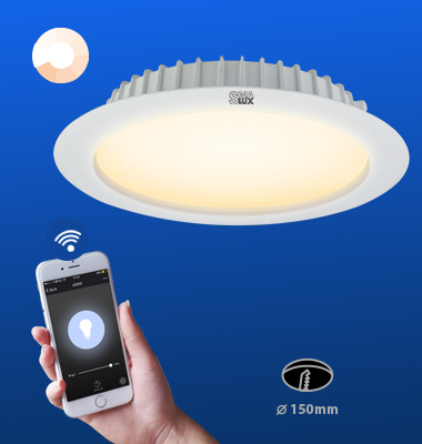 SMAlux 6 inch Dimmable Wi-Fi Recessed Retrofit Led Downlight