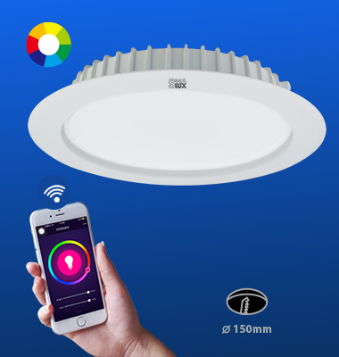 SMAlux 6 inch Multi Color Wi-Fi Recessed Retrofit Led Downlight