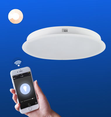 SMAlux Dimmable Wi-Fi Round LED Ceiling Light
