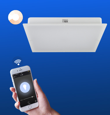 SMAlux Dimmable Wi-Fi Square LED Ceiling Light