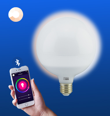 SMAlux G120 Dimmable Bluetooth Smart LED Light Bulb