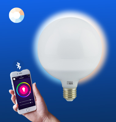 SMAlux G120 Tunable White Bluetooth Smart LED Light Bulb