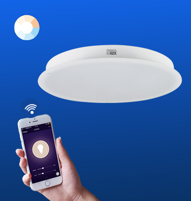 SMAlux Tunable White Wi-Fi Round LED Ceiling Light