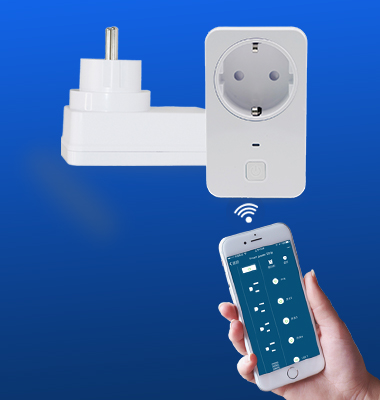 SMAlux Wifi Control smart Mini plug socket EU outlet