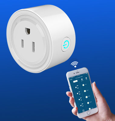 SMAlux Wifi Control smart Mini plug socket US outlet