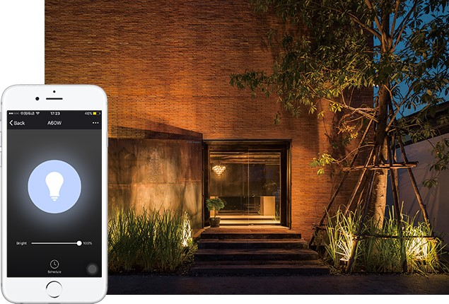 Outdoor smart lighting effects