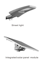 Solar panel module NB-IoT Street light