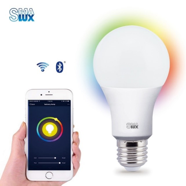 11- A70 Smart LED Light Bulb-Smartphone Control