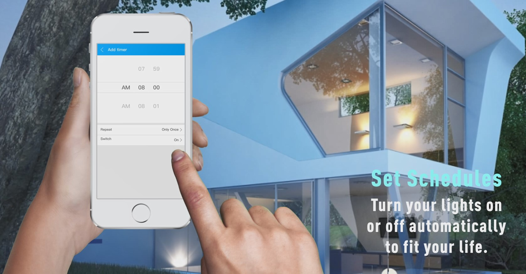 A60 Smart Light Bulb-Protect Your Home
