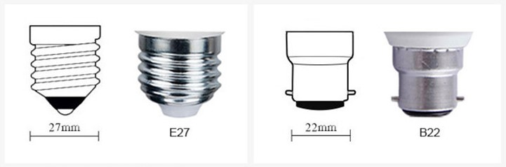 2-A70 Smart LED Light Bulb Base Type-E27 and B22