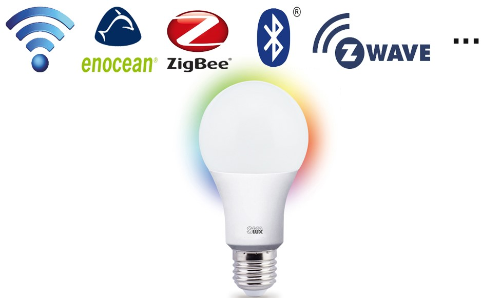2-Various Types of A21 Smart LED Light Bulb in Protocol Difference