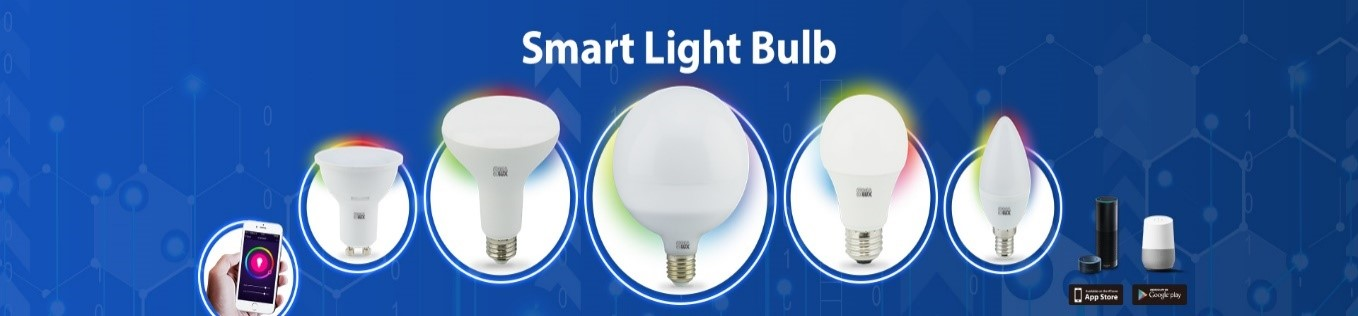 Different types of Smart Light bulbs
