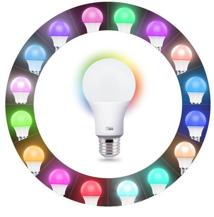 9-A21 Smart LED Light Bulb with Millions of Colors Changeable