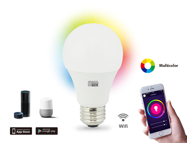 A19 Wi-Fi light bulb
