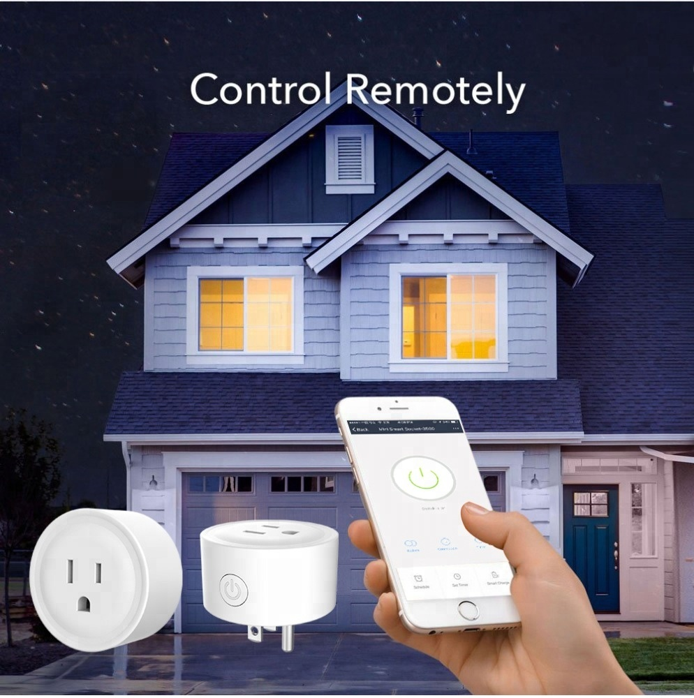 SMAlux Wi-Fi smart plug could be controlled remotely