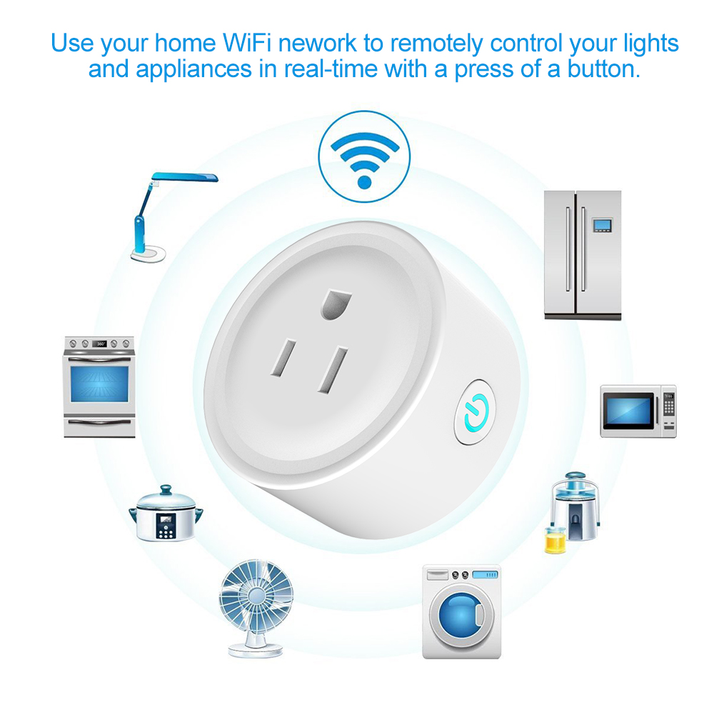 Use Wi-Fi power strip to control your home appliance
