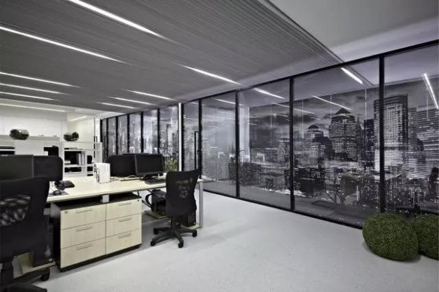 Picture of long lighting office