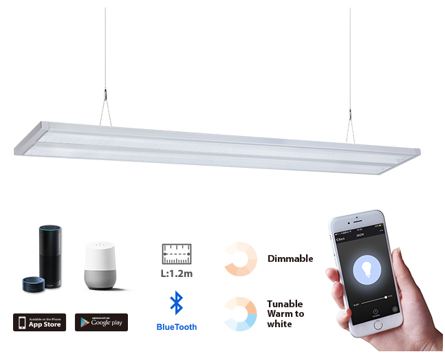 SMAlux Bluetooth Pendant Light.