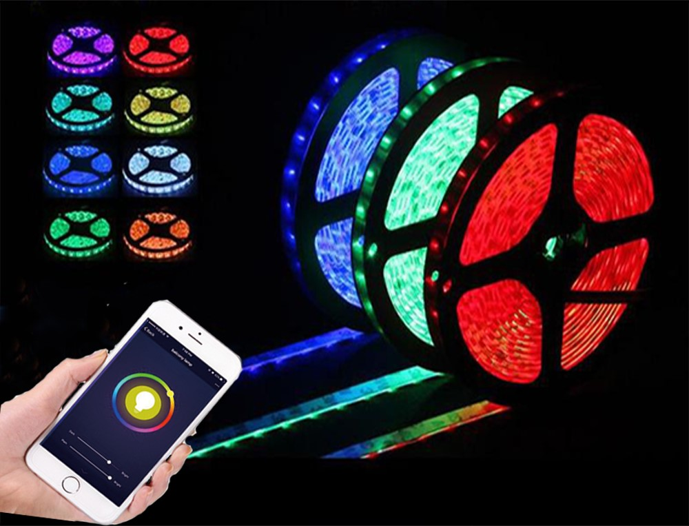 Wi-Fi LED Strip Light-Control on Smartphone