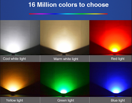 SMAlux G120 smart light bulb color change