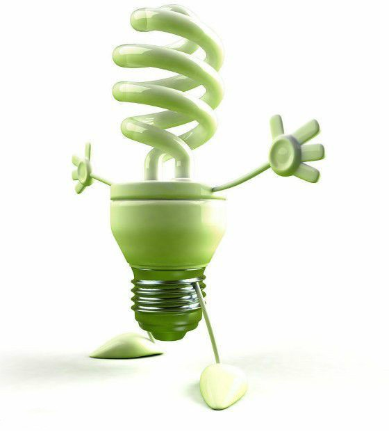 Indoor Smart Light: Green Energy Saving Light Bulb