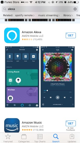 Download Amazon Alexa App
