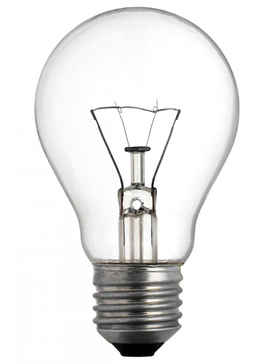Traditional incandescent lamp