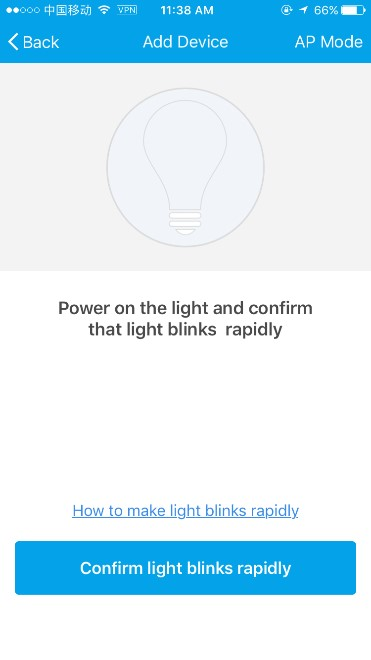 keep bulb on without blinking