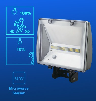 Outdoor Smart Light Motion Sensor Flood Light