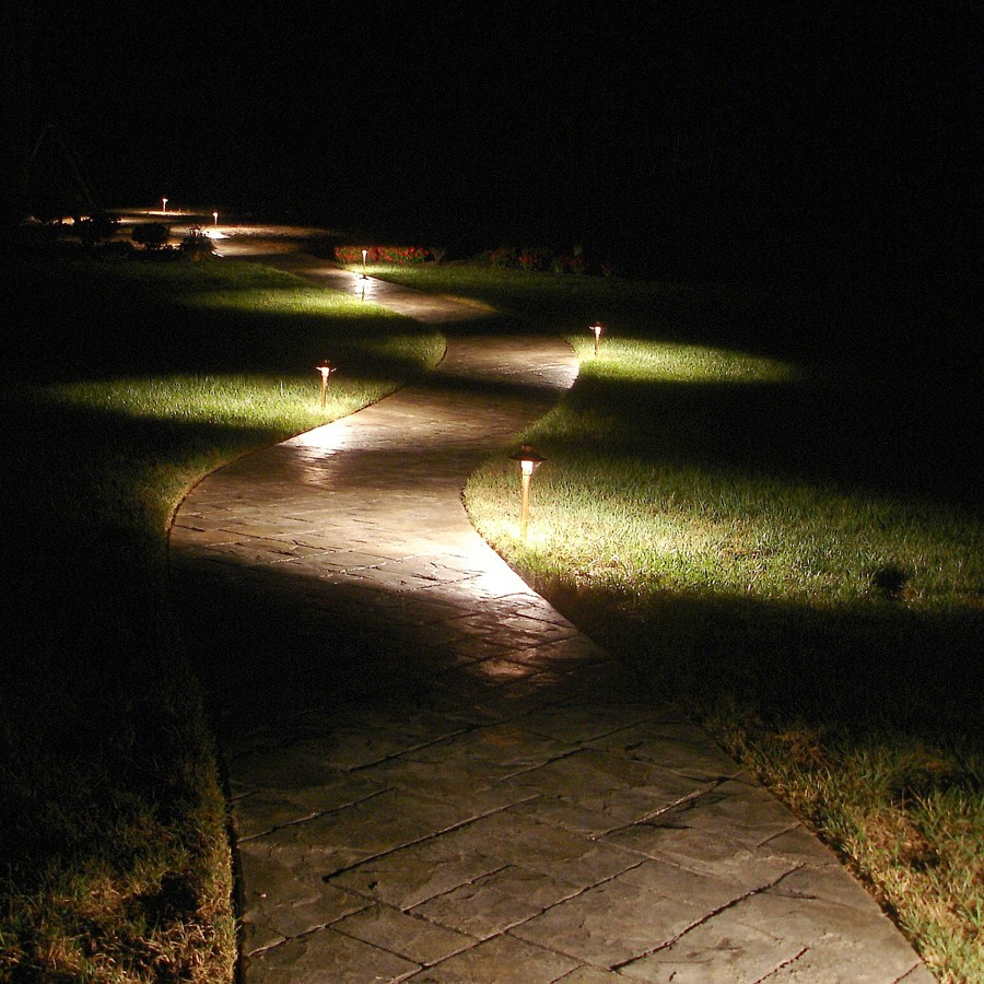 8-Bluetooth Path Light adds security to your property