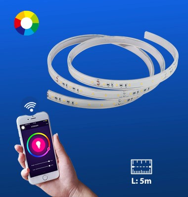 Indoor Smart Light: Wi-Fi LED Strip Light