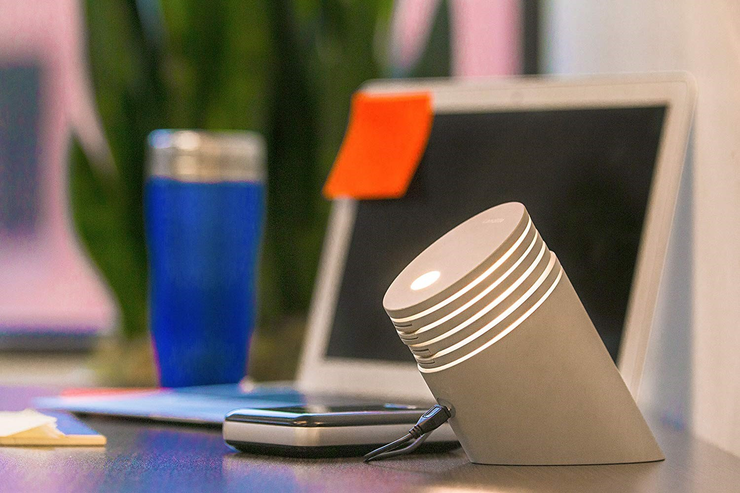 Place desk lamp as you like