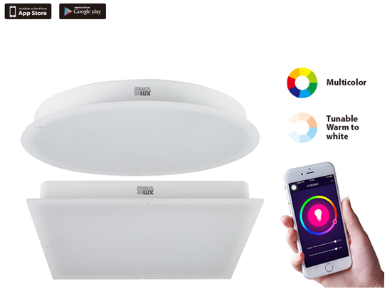 SMAlux Smart LED Ceiling Light(Round and Square)