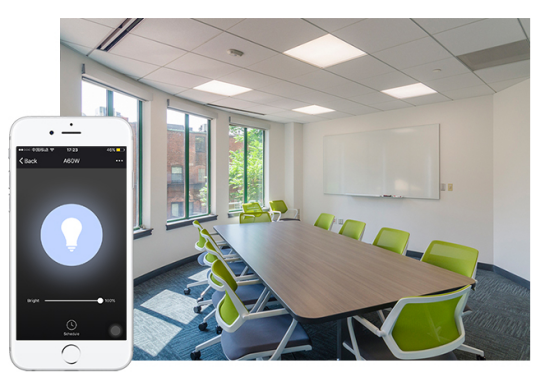 SMAlux smart LED Ceiling Light -Adjust Brightness