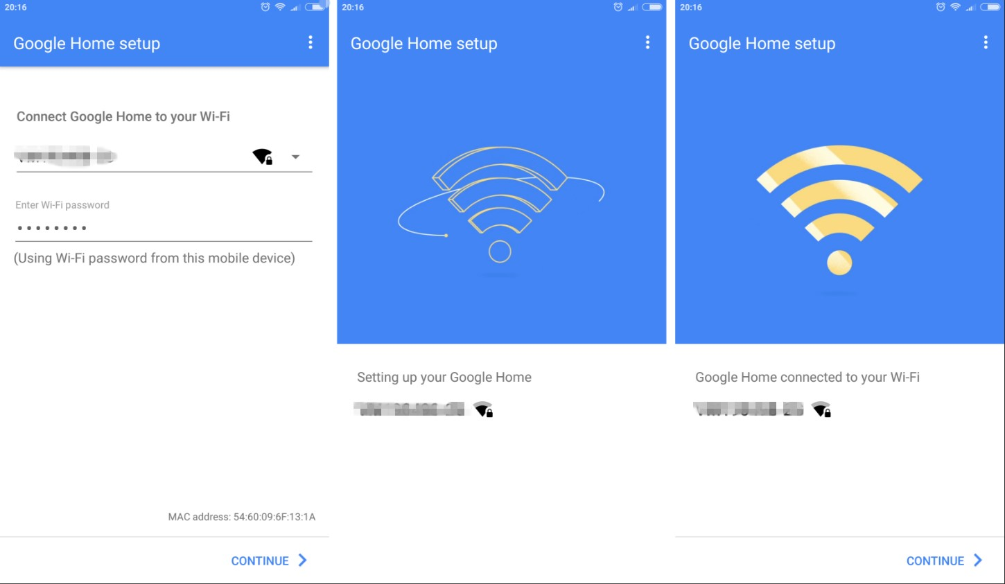 How to connect Google Home to the Wi-Fi net work