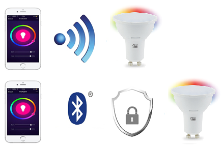 Gu10 Smart Bulb Wifi Bluetooth Gu10 Smart Bulb Supplier