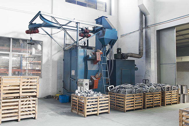 Shot Blasting Machine for flood light