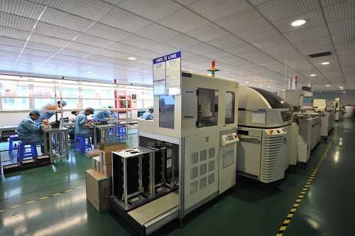 SMD machine to manufacture the Spot light