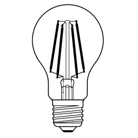 LED filament bulb Design